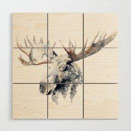 Moose Wood Wall Art