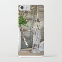 Our Lady of Mt Carmel iPhone Case