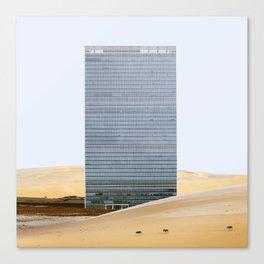 Misplaced Series - United Nations Canvas Print