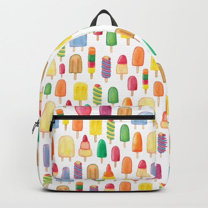 Ice Lolly, Popsicle, Ice Cream, Print.  Backpack