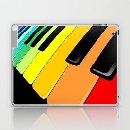 Piano Keyboard Rainbow Colors  Laptop & iPad Skin