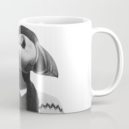 The Hipster Puffin Coffee Mug