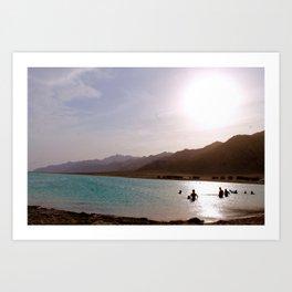 Sinai sunset Art Print