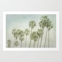 palm trees Art Prints featuring Palm Trees by Pure Nature Photos