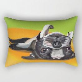 Upsidown Boston Rectangular Pillow