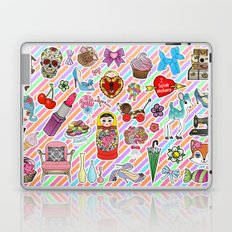I Love Stickers Laptop & iPad Skin