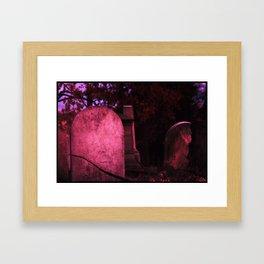 Sunset Stones (version 1) Framed Art Print