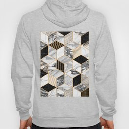 Marble Cubes 2 - Black and White Hoody