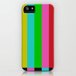 Gl2tch iPhone Case