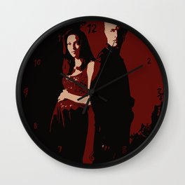 Spike & Dru Wall Clock