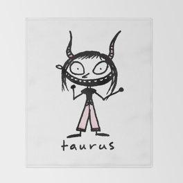 taurus. uh! Throw Blanket