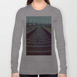 Railroad. Russia. Long Sleeve T-shirt