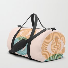 Abstraction_EYES_Minimalism_POP_ART Duffle Bag