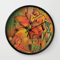 faces Wall Clocks featuring FACES by tidlin