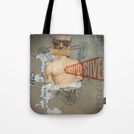 Super Ju Jitsu Liquid Silver Tote Bag