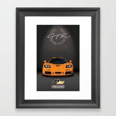 1995 McLaren F1 LM  Framed Art Print
