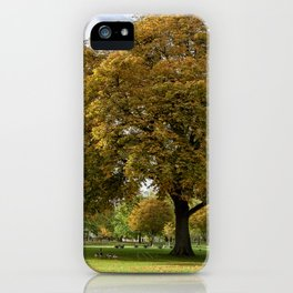 Hyde Park iPhone Case