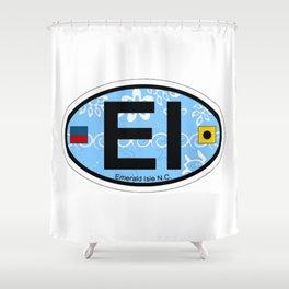 Emerald Isle - North Carolina. Shower Curtain