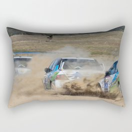 Nathan Quinn - The dust storm Rectangular Pillow