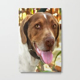 Arthur The Hunting Dog Metal Print