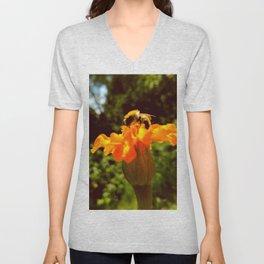 bee of autumn Unisex V-Neck