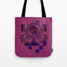 weird eye , hand , space thing ? Tote Bag