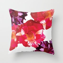 Roses Beautiful and Jazzy Throw Pillow