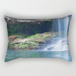 Waterfalls at Fern Pool in Karijini National Park, Western Australia Rectangular Pillow