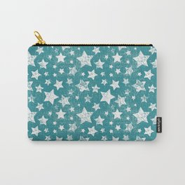 Shabby stars pattern Carry-All Pouch