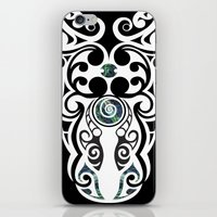 warrior iPhone & iPod Skins featuring Warrior by Boz Designs