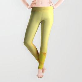 Delving in Yellow Leggings