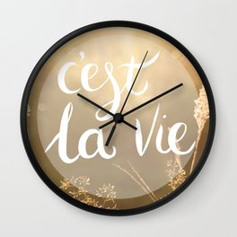 Cie La Vie Wall Clock