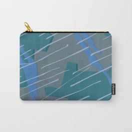 Camouflage City Rain Carry-All Pouch