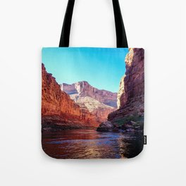 Floating the Colorado *resized* Tote Bag