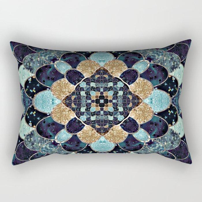 REALLY MERMAID - MYSTIC BLUE Rectangular Pillow