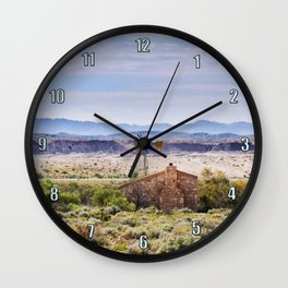 Outback South Australia Wall Clock