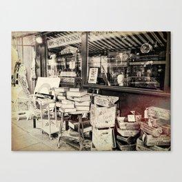 Junk Shop London Canvas Print