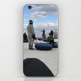 Snow Tubing iPhone Skin