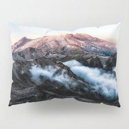 Mt Rainier from Fremont Pillow Sham