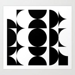 Noire Lumière Art Print