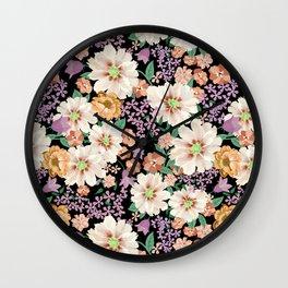 FLOWERS X Wall Clock