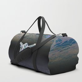 A Skydiver Between Two Parallel Universes Duffle Bag