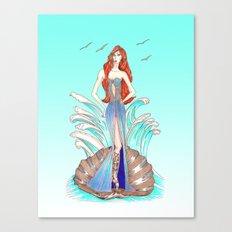 Venus Dress Canvas Print
