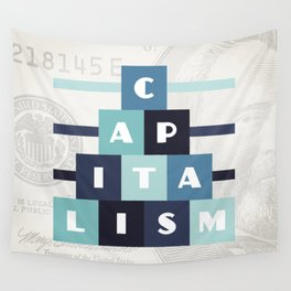 Capitalism Wall Tapestry