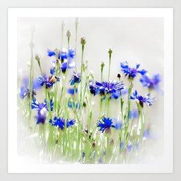So Many Flowers. So Little Time. Art Print
