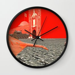 Squared: Collision of sound Wall Clock