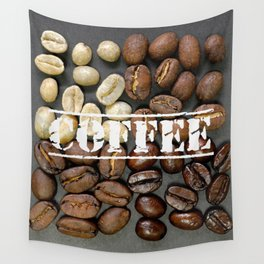 Coffee Heaven Wall Tapestry