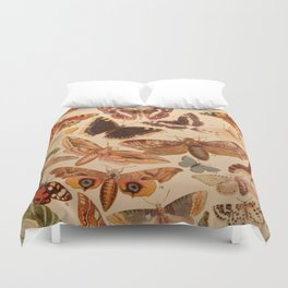 Vintage insects 1 Duvet Cover