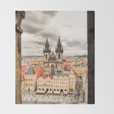 PRAGUE 3 Throw Blanket