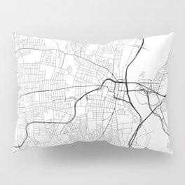 Minimal City Maps - Map Of Hartford, Connecticut, United States Pillow Sham